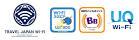 TRAVEL JAPAN WiFiでは、 Wi2エリア、BBモバイルポイントエリア、UQ Wi-Fi エリアで使えます