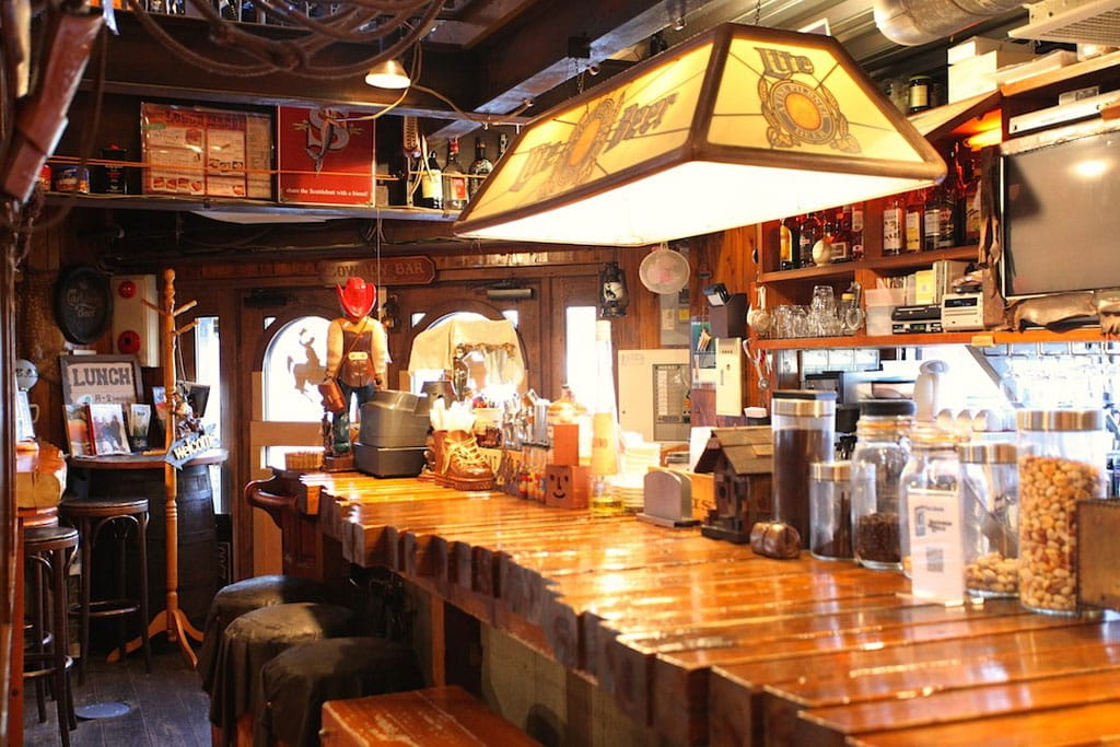 The restaurant bar from manga quot nana jackson hole in
