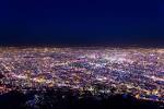 mt moiwa night view