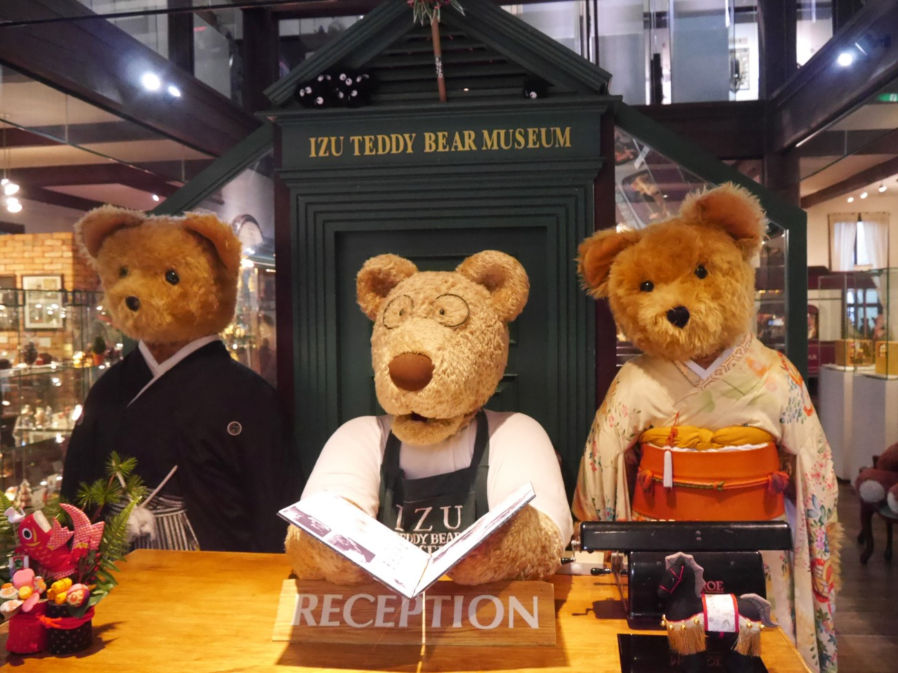 Visit The Dreamlike World Of Izu Teddy Bear Museum