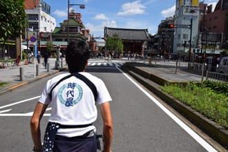 【淺草·攻略】輕鬆玩遍淺草的四種方法:自行車、觀光巴士、人力車、水上巴士