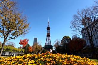 ชมแลนด์มาร์กแห่งซัปโปโร ซัปโปโรทีวีทาวเวอร์ (Sapporo TV Tower)