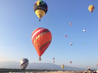 Let's Go To The Saga International Balloon Festa!