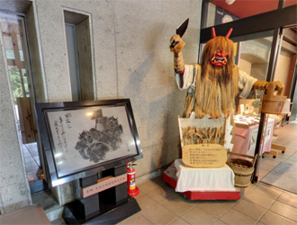 <div class='captionBox title'>來秋田「男鹿生剝鬼博物館」看日本最嚇人的神靈</div>