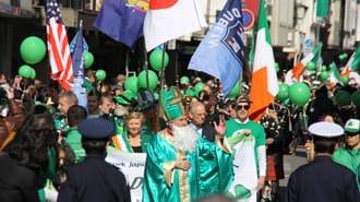 <div class='captionBox title'>Enjoy The 2018 St. Patrick's Day Parade In Yokohama!</div>