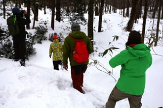 Snow Hiking Around The Juniko Lakes - Shirakami Mountains, Aomori