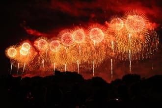 Giant 650 Meter Fireworks! Nagaoka Hanabi in Niigata