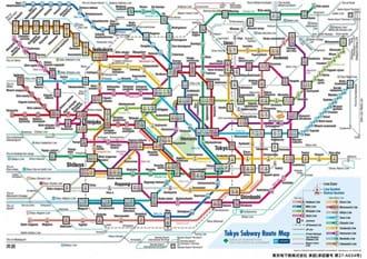 ใครๆก็ใช้ได้!! ตั๋วเหมาขึ้นรถไฟใต้ดินโตเกียว 24 ชั่วโมง