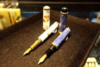 Amazing Works of Art!  Japanese Handcrafted Fountain Pens