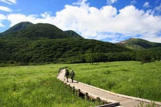 Taman Nasional dengan Pemandangan Luar Biasa Unik di Kokonoe, Oita!