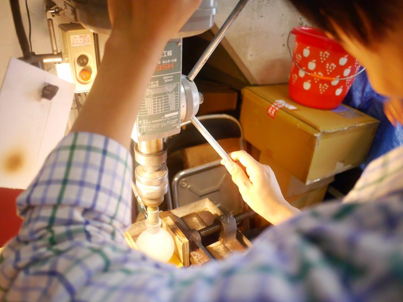 『清澄白河』舊傳統新發現!自己做世界唯一的江戶玻璃瓶