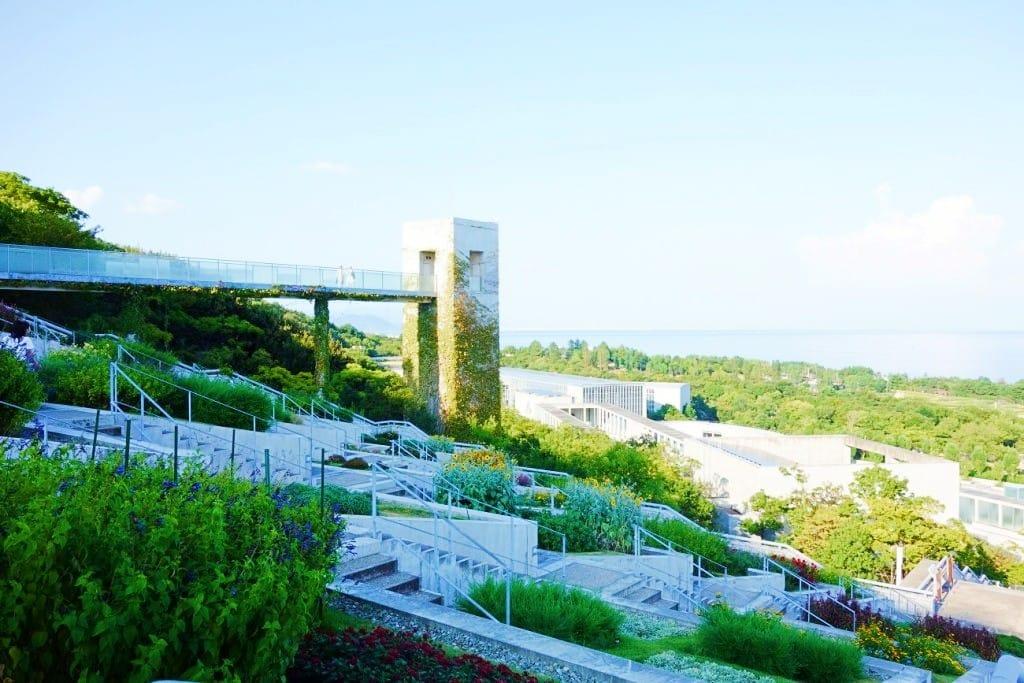 【兵庫 淡路島】大師安藤忠雄繪出的天空之城--夢舞台