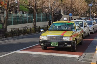 How To Take A Taxi In Japan