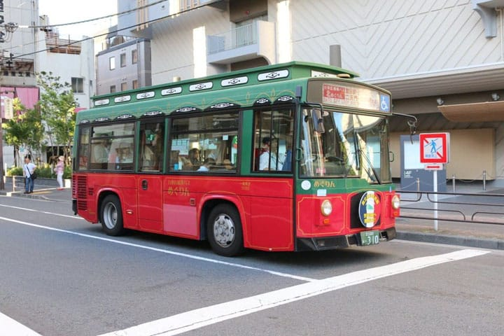 See Asakusa By Bus: The Megurin Sightseeing Tour Bus