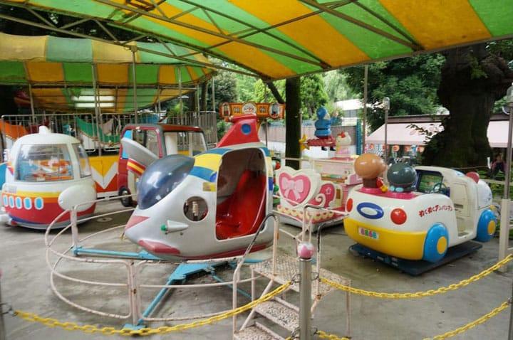 Visit The Retro Ueno Children's Amusement Park!