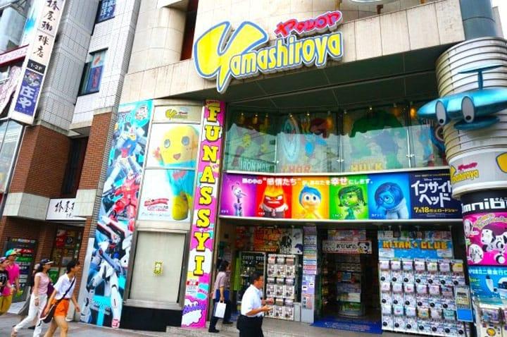 日本のアニメグッズを買うなら 上野「ヤマシロヤ」がオススメ