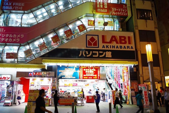 Belanja Nyaman di Pusat Komputer LABI Akihabara