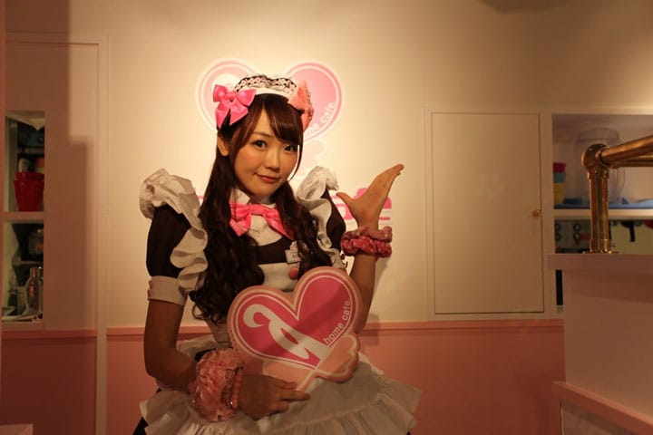 An Icon Of Akihabara's Otaku Culture: What's A Maid Cafe?