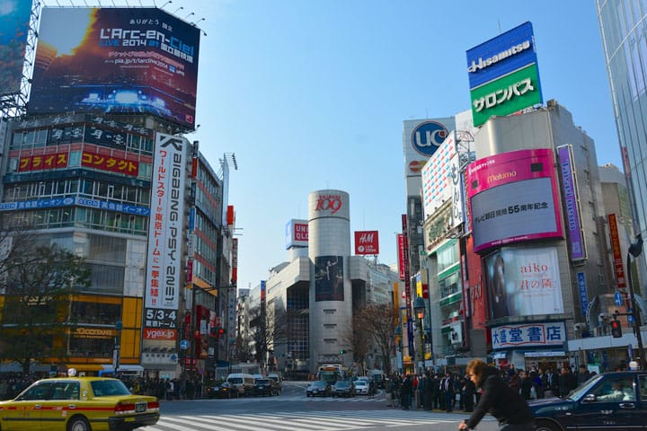 The 2 Most Popular Spots In Shibuya: Hachiko and Scramble Crossing