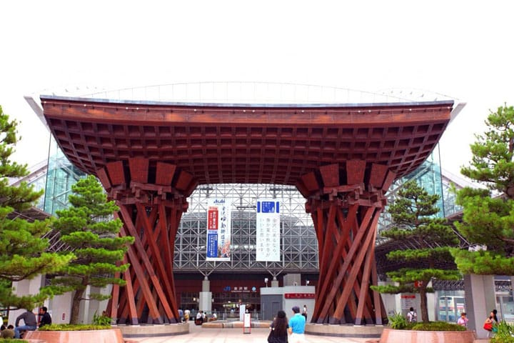 Only in Kanazawa - The Tsuzumi Gate and Hospitality Dome