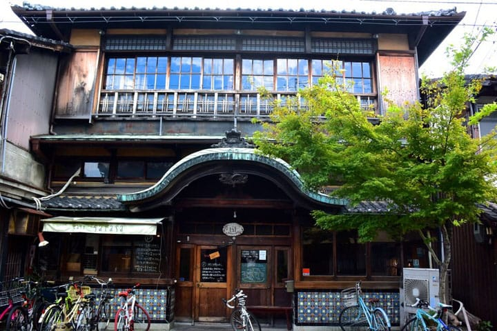 A Public Bath Turned Into A Cafe? Sarasa Nishijin In Kyoto