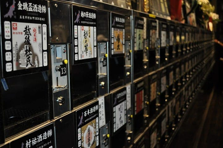 Taste Five Types Of Japanese Sake For 500 Yen! Ponshukan In Niigata