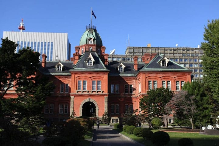 When In Sapporo, See The Former Hokkaido Government Office Building!