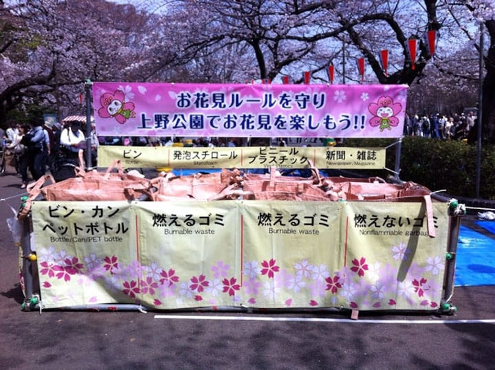 Clean Up The Right Way: Dealing With Trash After A Hanami