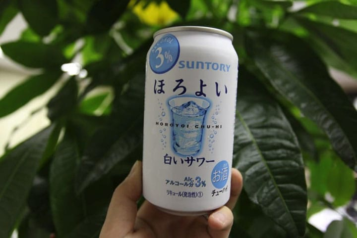 Horoyoi - The Charming Japan-Only Alcoholic Beverage