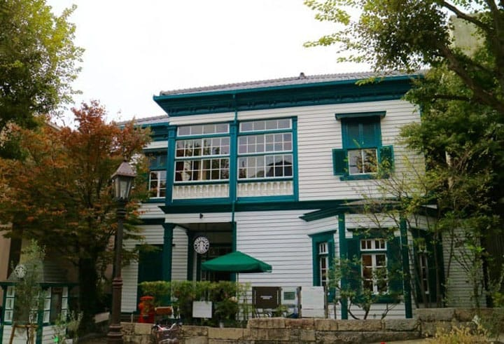 Starbucks Kobe Kitano Ijinkan: Have Coffee In A Tangible Heritage Site