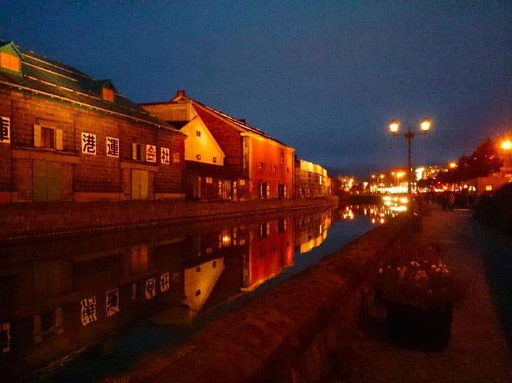 【北海道小樽】運河の街で行く、ロマンチックな夜の散歩