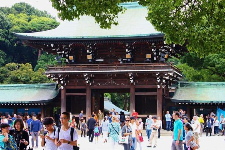 【東京】都會中的心靈洗滌場所 東京都神社5選