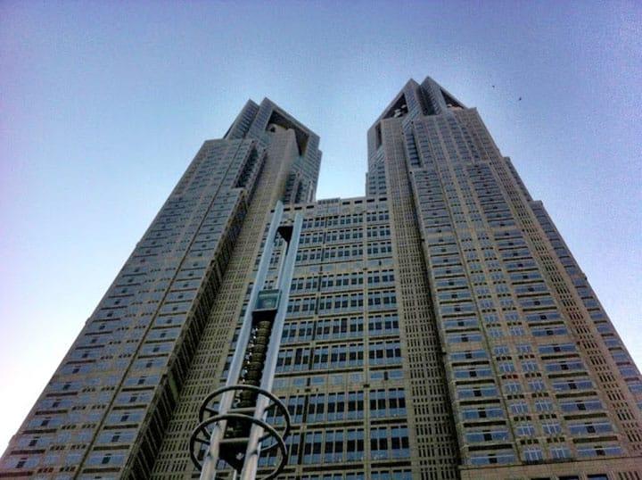 돈 들이지 않고 즐길 수 있다! 도쿄 도청 전망실에서 대도시를 한눈에 보다