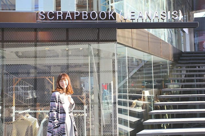 【原宿·SCRAPBOOK(JEANASIS)】台湾女生带你逛人气品牌旗舰店!