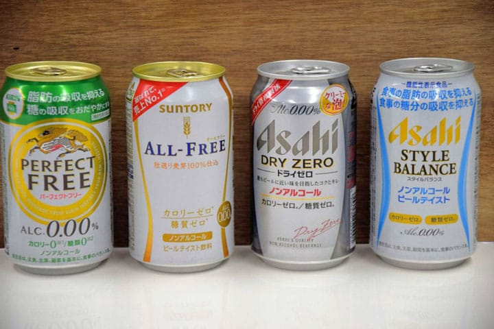 A Thorough Comparison Of Japanese Non-Alcoholic Beers