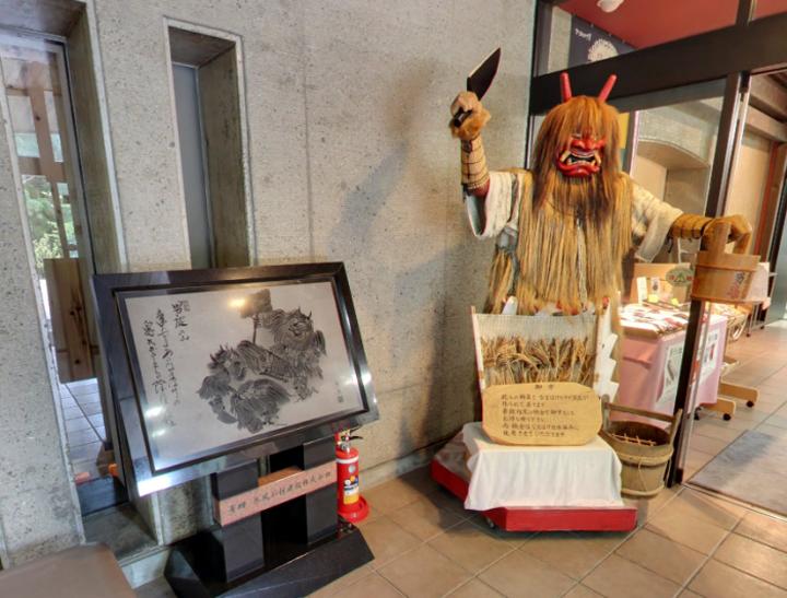 아키타 「오가 나마하게관」에서, 일본에서 제일 무서운 신