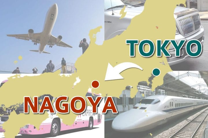 Ways To Travel From Tokyo To Nagoya! A Thorough Comparison