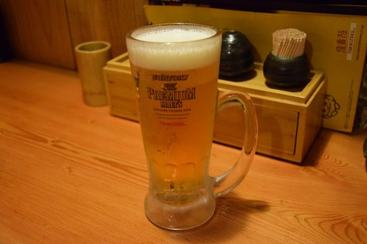 Too Much Beer Foam? Differences Between Japanese and Non-Japanese Beer