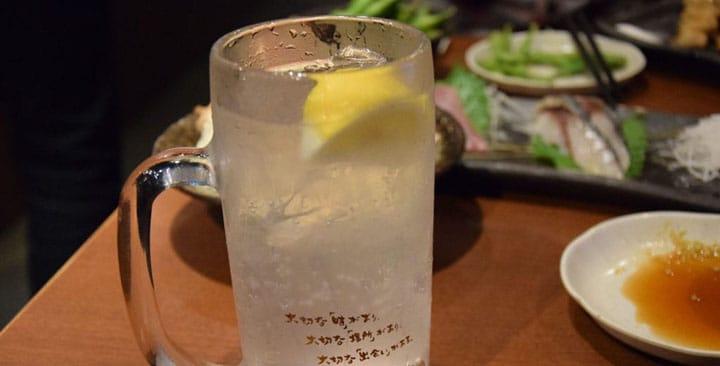 【이자카야】일본에서, 소주를 희석한「츄하이」를 마셔보자!