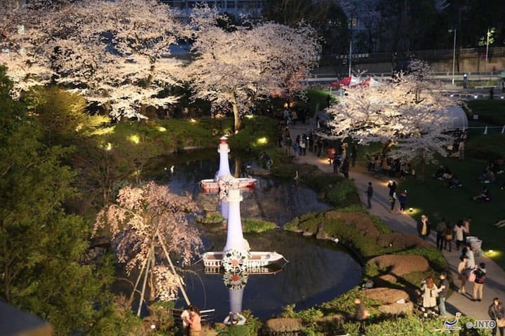 Five Sakura Viewing Spots In The Tokyo Area