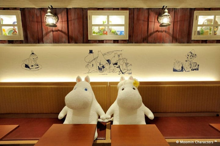 Welcome to the Moomin World! Moomin House Café in Oshiage