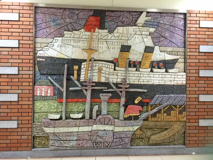 『橫濱』推薦港未來線的壁畫作品2選 入場免費且交通方便
