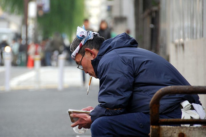 Not Easy to Live as a Smoker? Smoking Rules in Kyoto