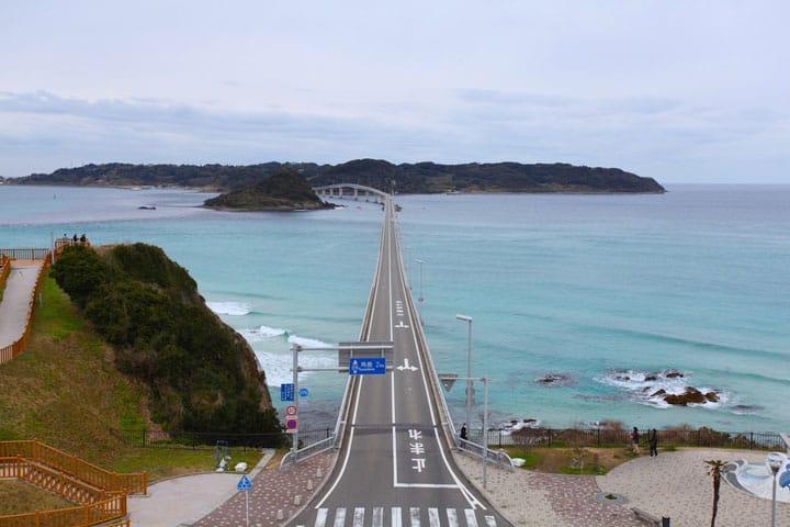 Hamparan Laut Hijau yang Menakjubkan! Tsunoshima, Destinasi Wajib di Yamaguchi-ken
