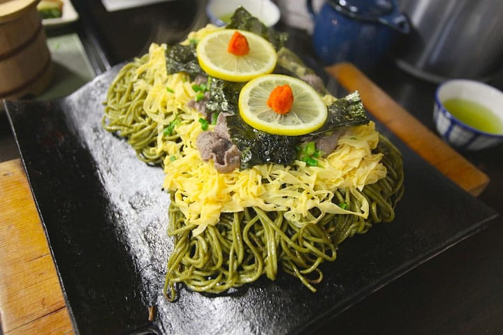 Cooked on a Roof Tile?! Yamaguchi's Famous Kawara Soba