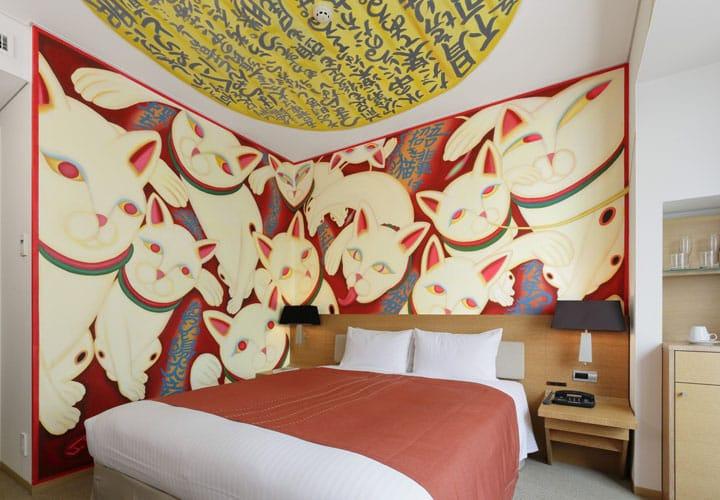 世界にひとつのアートルームに泊まる、汐留・パークホテル東京