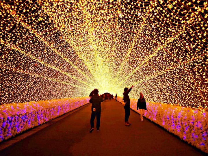 Mie - The Fabulous Illuminations In Nabana No Sato