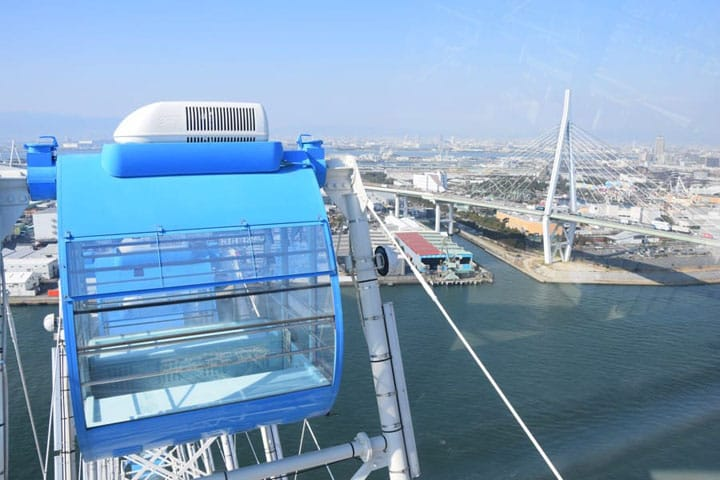 Ride the Tempozan Ferris Wheel For a Sky-High View of Osaka