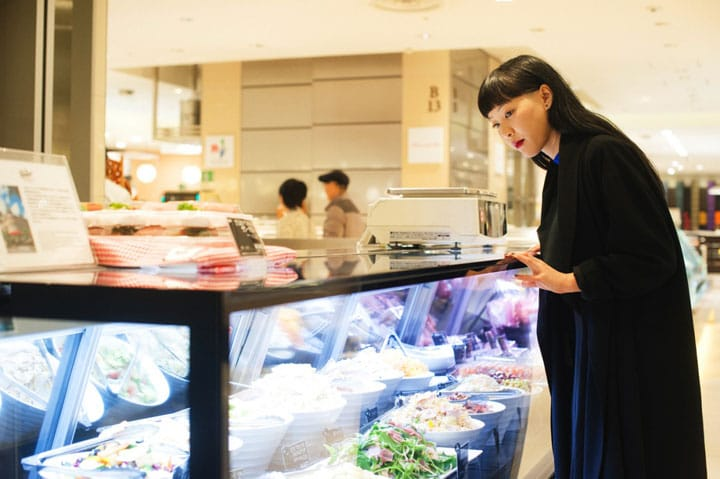 Ginza's Food Paradise - The Favorite Spot of A Popular Model