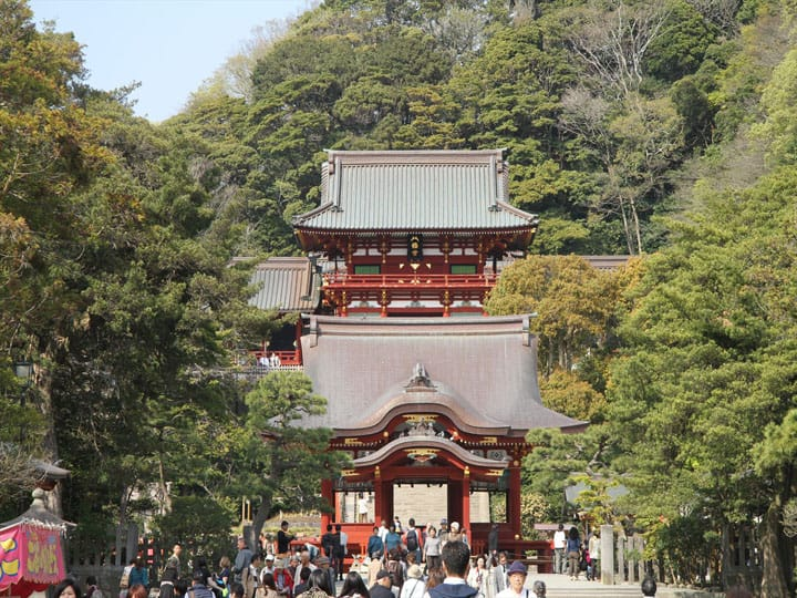 Tsurugaoka Hachimangu, Kamakura: Once The Center Of Japan
